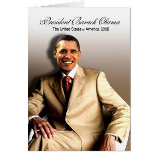 Cartão Presidente Barack Obama (clássico)