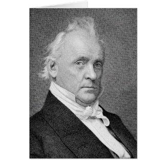 Cartão Presidente de Buchanan - de James dos Estados