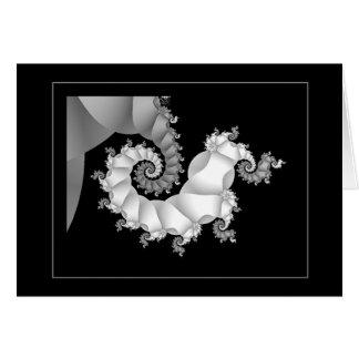 Cartão Preto & branco 3 (embrionários)