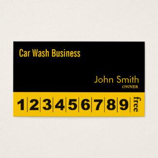 Cartão preto moderno da lealdade do negócio do