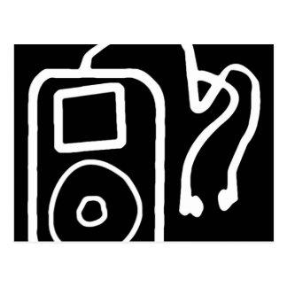 Cartão pretos tirados de iPod