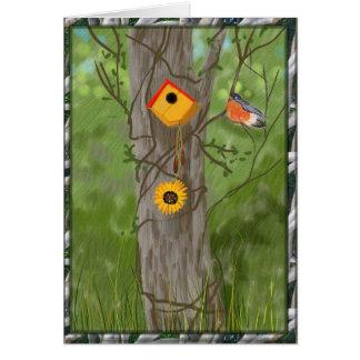 Cartão Primavera