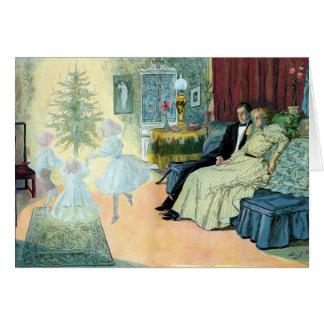 Cartão Primeira Noite de Natal; uma visão do futuro