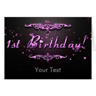 Cartão Primeiro aniversario
