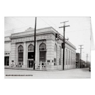 Cartão Primeiro Banco-McMinnville nacional Tennessee