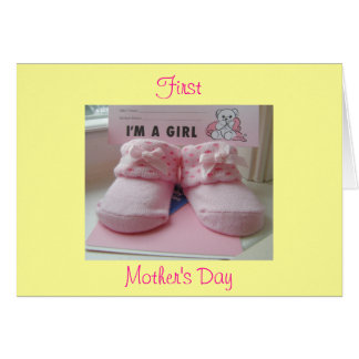 Cartão Primeiro dia das mães