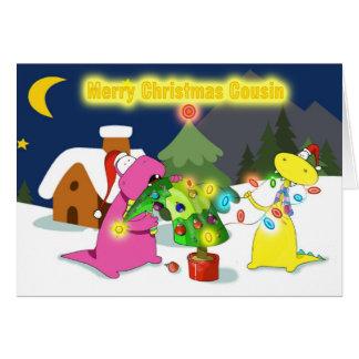 Cartão primo do Feliz Natal