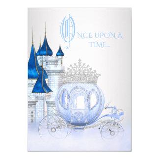 Cartão Princesa Aniversário de Cinderella