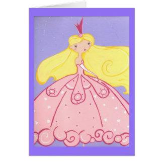 Cartão Princesa Aniversário Desejo