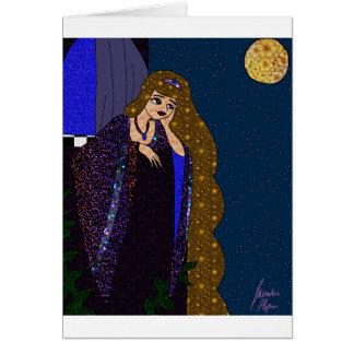 Cartão Princesa da torre