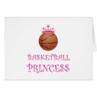 Cartão Princesa do basquetebol