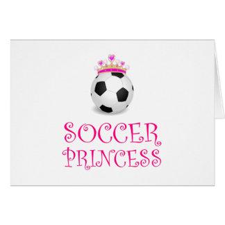 Cartão Princesa do futebol