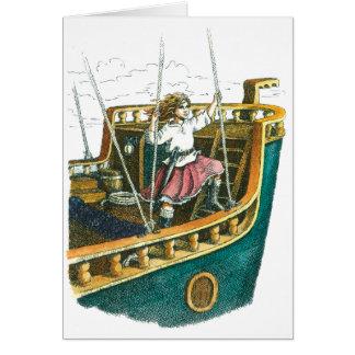 Cartão Princesa do pirata