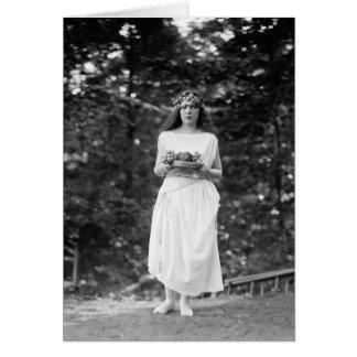 Cartão Princesa IDA Cantacuzene: 1922