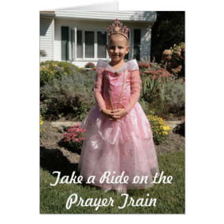 Cartão Princesa Krista