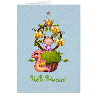 Cartão Princesa Muffin