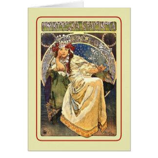 Cartão Princezna Hyacinta (1911)