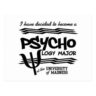 Cartão principal da psicologia - anúncio engraçado