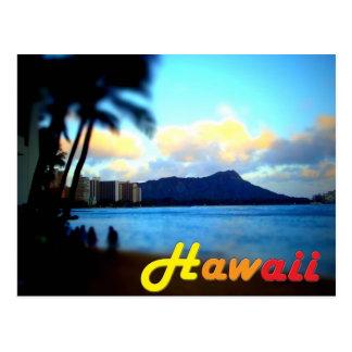 Cartão principal do Havaí-Oahu-Diamante