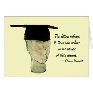 Cartão principal graduado