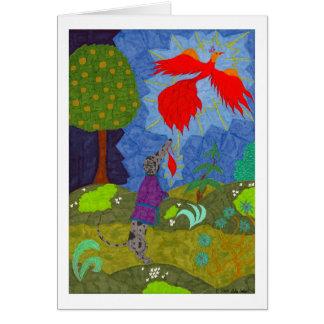 Cartão Príncipe Ivan & o Firebird