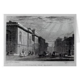 Cartão Prisão de Newgate e o Bailey idoso
