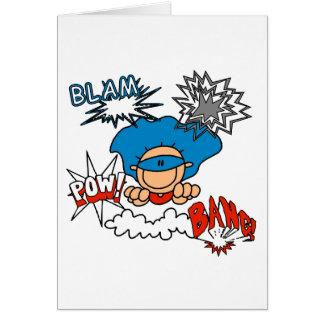 Cartão Prisioneiro de guerra super do golpe de Blam do