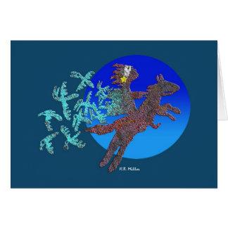 Cartão Procura dos Shamans