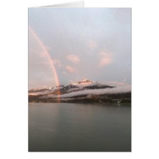 Cartão Procure o arco-íris