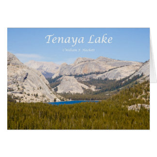 Cartão Produtos de Yosemite Califórnia do lago Tenaya