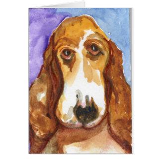 Cartão Profissional Basset Hound de Fred