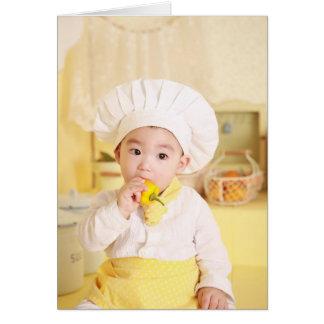 Cartão profissional da dissolução do cozinheiro