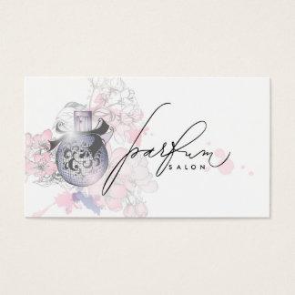 Cartão profissional da fragrância da beleza do