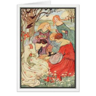 Cartão Progresso do príncipe por Florença Harrison