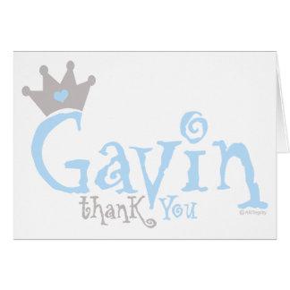 Cartão Projete - Gavin