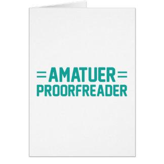 Cartão Proorfreader