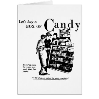 Cartão Propaganda de jornal 1930 dos doces