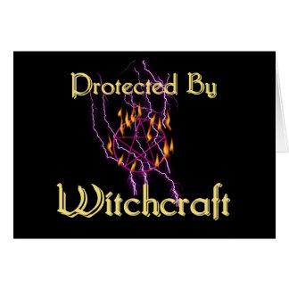 Cartão Protegido pela feitiçaria