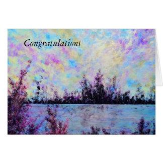 Cartão Pruple um - Os parabéns cardam por Jane Howarth