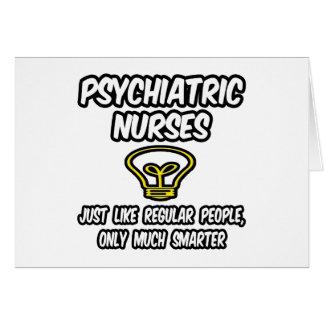 Cartão Psych nutre… as pessoas regulares, somente mais