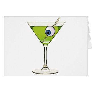 Cartão Psychobilly Martini