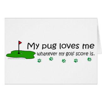 Cartão Pug