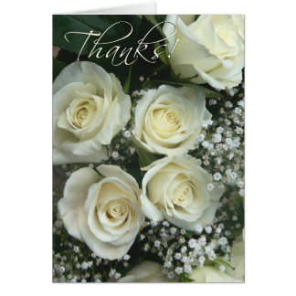 Cartão Pulverizador do obrigado do rosa do creme você