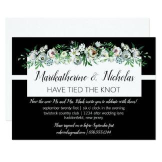 Cartão Pulverizadores das flores após a festa de