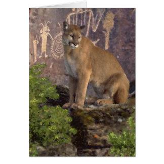 Cartão Puma e images gráficas