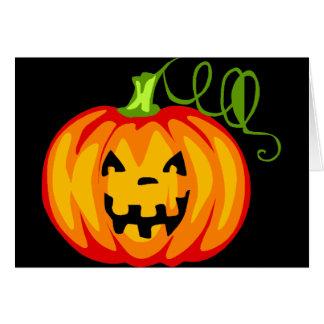 Cartão Pumpkint