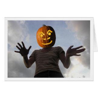 Cartão Pumpkinwoman