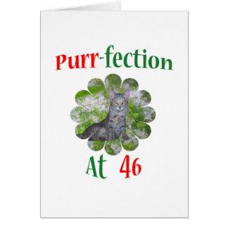 Cartão Purr-fection 46