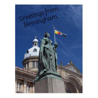 Cartão quadrado de Victoria Birmingham