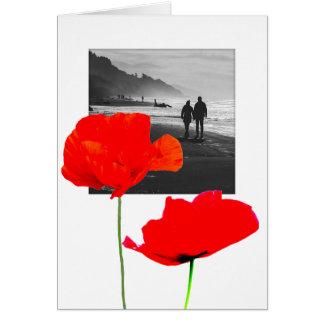 Cartão Quadro branco da foto com simpatia memorável C das
